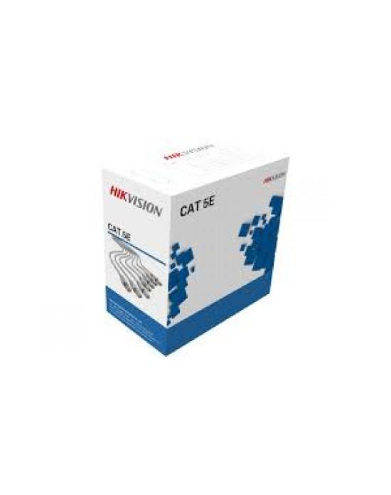 Hikvision DS-1LN5E-E-E 305 m CAT5E UTP Network Cable (Solid Copper, 0.45 mm, CMX) *s