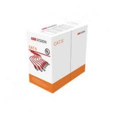 Hikvision DS-1LN6-UU- 305 m CAT6 UTP Network Cable (Solid Copper, 0.565 mm, CM) *s