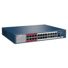 Hikvision DS-3E0326P-E-M 24 Port Fast Ethernet Unmanaged POE Switch *s