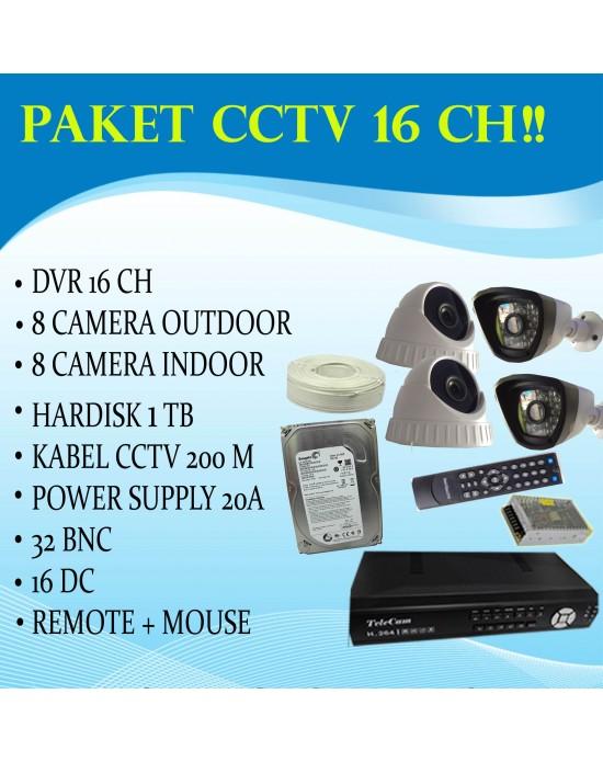 [PAKET] Telecam 16CH DVR 91604