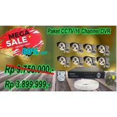 Paket CCTV 16CH DVR ( Flash November Sale 2020)