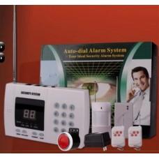 LED ALARM SET AUTO DIAL ALARM SYSTEM SET ALARM