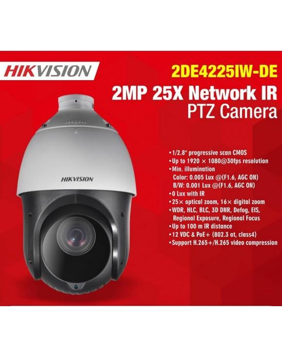 HIKVSION DS-2DE4225IW-DE IP66 2MP 25X Network IR PTZ Camera