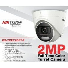 Hikvision DS-2CE72DFT-F 2MP Turret Camera