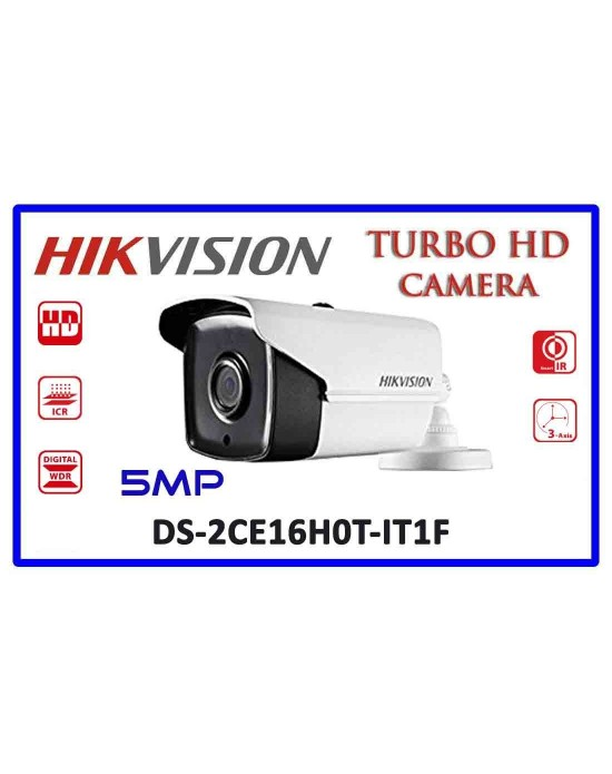 HIKVISION DS-2CE16H0T-IT1F 5MP 2.8mm Turbo HD Bullet Camera