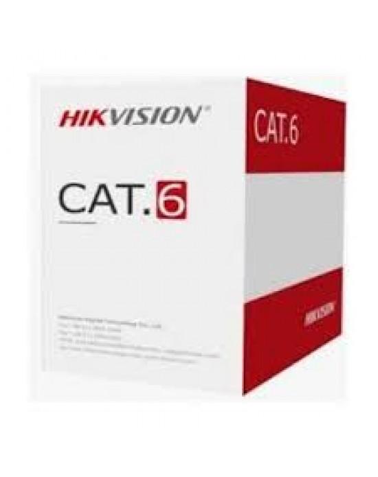 Kabel Lan UTP Hikvision Cat 6 DS-1LN6U-W CCA