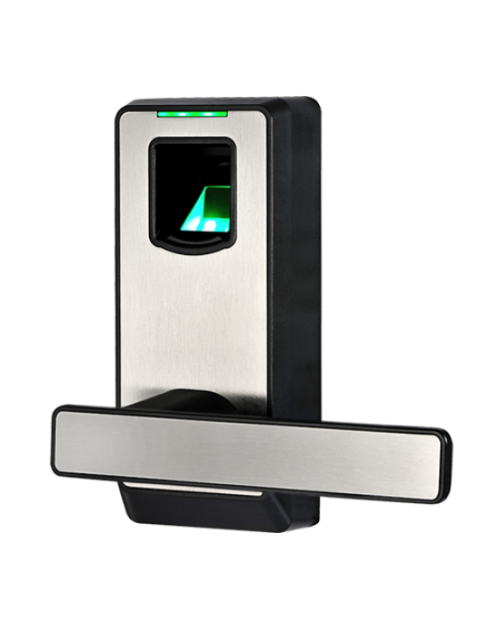 ZKTEco PL10 smart lock with embedded fingerprint recognition technology